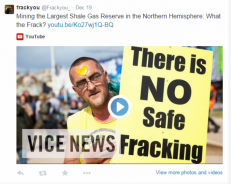 There is NO safe FRACKING! Join our Campaign...